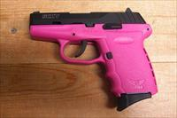 SCCY CPX-2 w/2 tone pink finish, no external safety