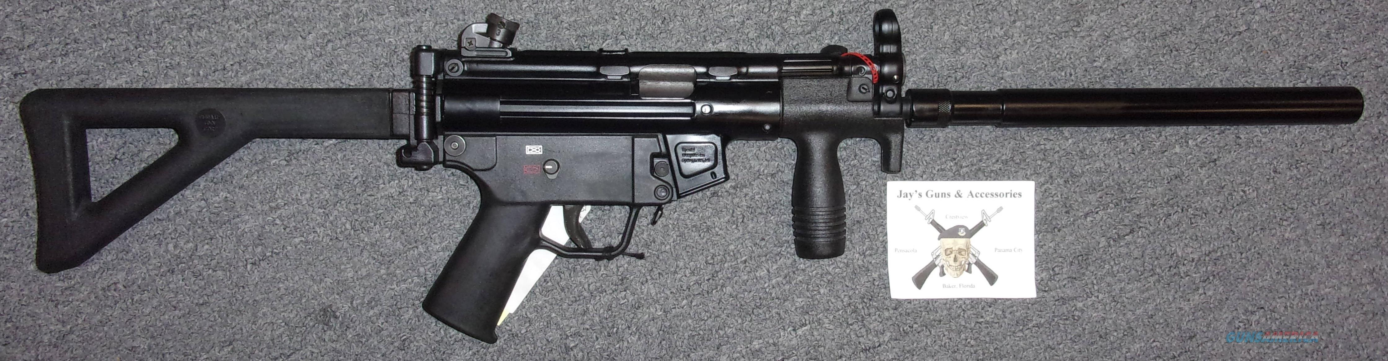 Special Weapons SW94K w/Fake Suppressor (HK SP5K Clone)