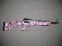 4095 w/ pink camo and black finish