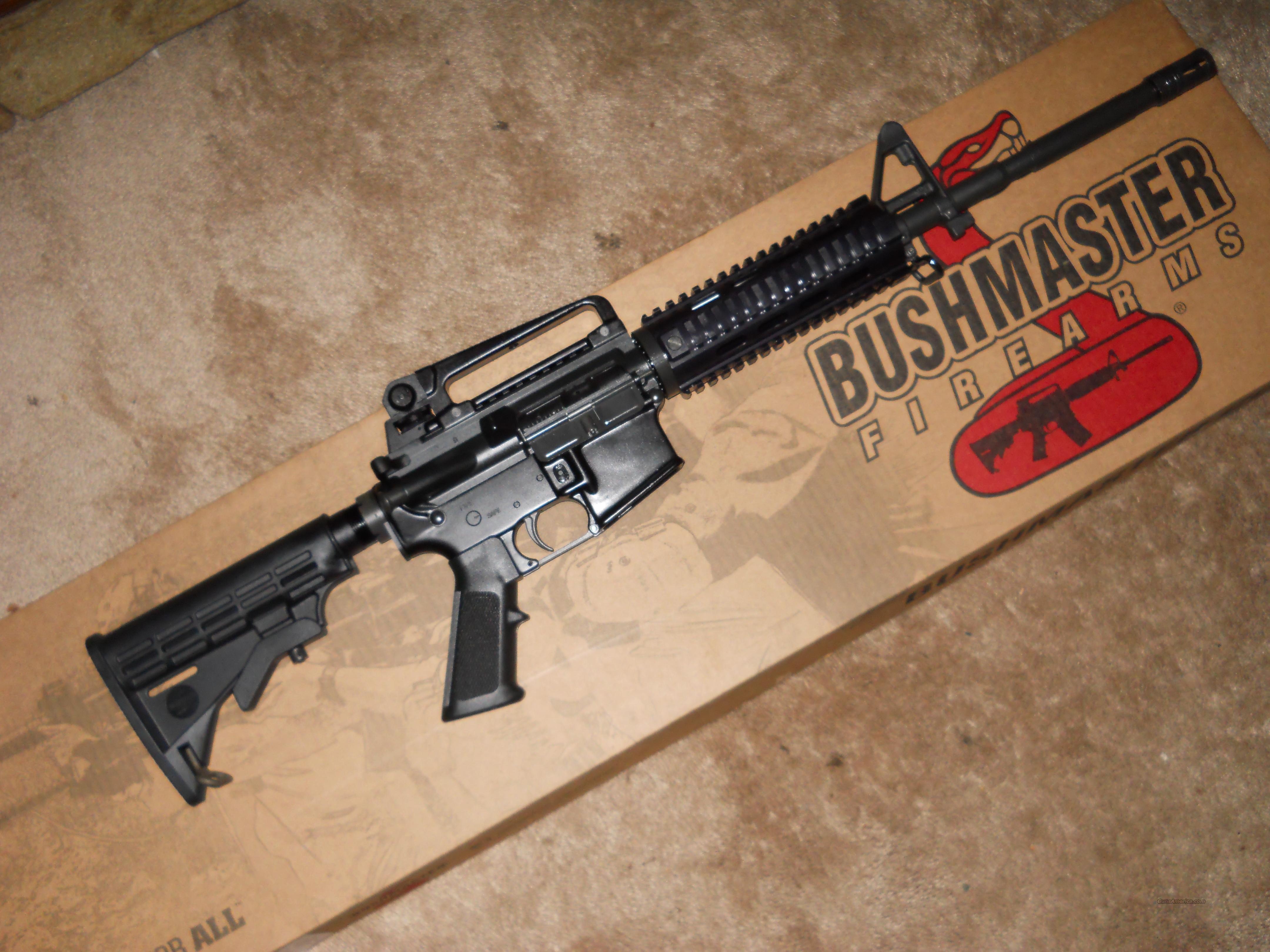 Bushmaster AR-15 M4 A3 Quad Rail