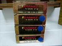 Barnes VOR-TX .375 HH Ammo (lot of four 20 round boxes)
