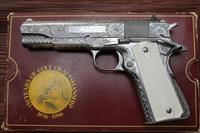 Fully Engraved Colt MKIV 1911 S/S 45acp 80 series 150 anniversary