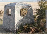 GROUND BLIND by EZ-UP CORP. - NATURAL CAMOUFLAGE
