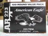 LOOK!! FEDERAL AR .223 (5.56) AMMO (AMMUNITION) 100 PACKS $49.95 EACH.