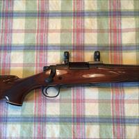 NICE!! REMINGTON MODEL 700 BDL - .22-250 - WALNUT/MATTE FINISH BOLT ACTION RIFLE WITH LEUPOLD SCOPE BASE AND RINGS