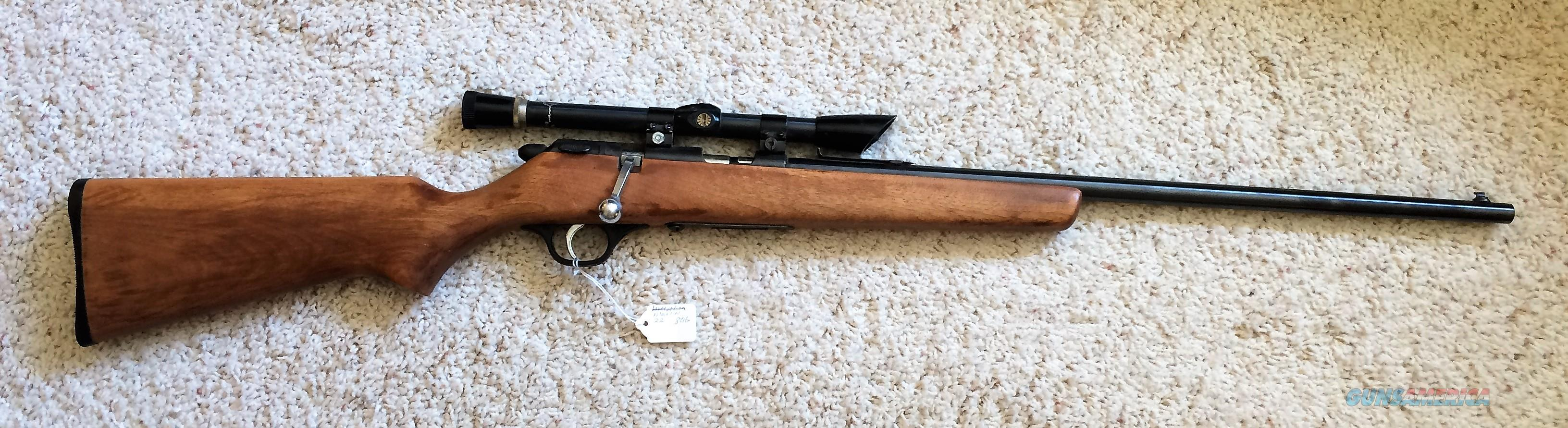 marlin model 80g 22 bolt action rifle for sale