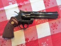 MINTY!!  1971 - COLT PYTHON - 6 INCH - BLUED - .357 - REVOLVER - UNFIRED!!