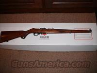 RARE!!  RUGER 10/22  STAINLESS WALNUT MANNLICHER .22 CAL. SEMI-AUTO RIFLE