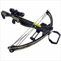 NEW!! BARNETT CROSSBOW - MODEL JACKAL - 4X32 MULTI RETICLE SCOPE AND QUIVER.