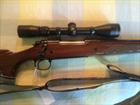 NICE!! REMINGTON 700 ENGRAVED BDL .7MM REMINGTON MAGNUM WITH NIKON BUCKMASTERS 3-9X40MM SCOPE - CAMO SLING - HARD CASE