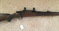 INTERARMS .30-06 BOLT ACTION RIFLE WITH SCOPE BASE AND RINGS