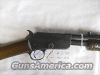 NICE!! MARLIN MODEL 37 .22 S-L-LR - ROUND BARREL - PUMP ACTION RIFLE