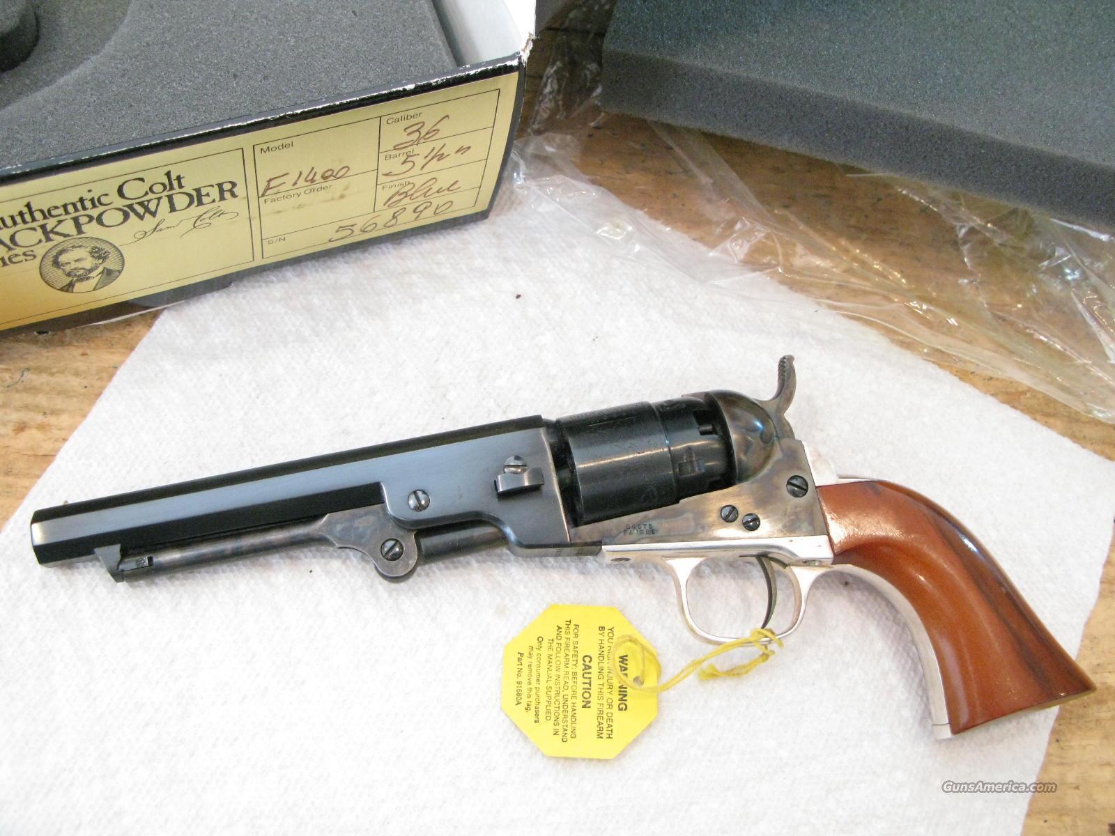 colt 2nd gen 1862 pocket navy 36 cal nib for sale