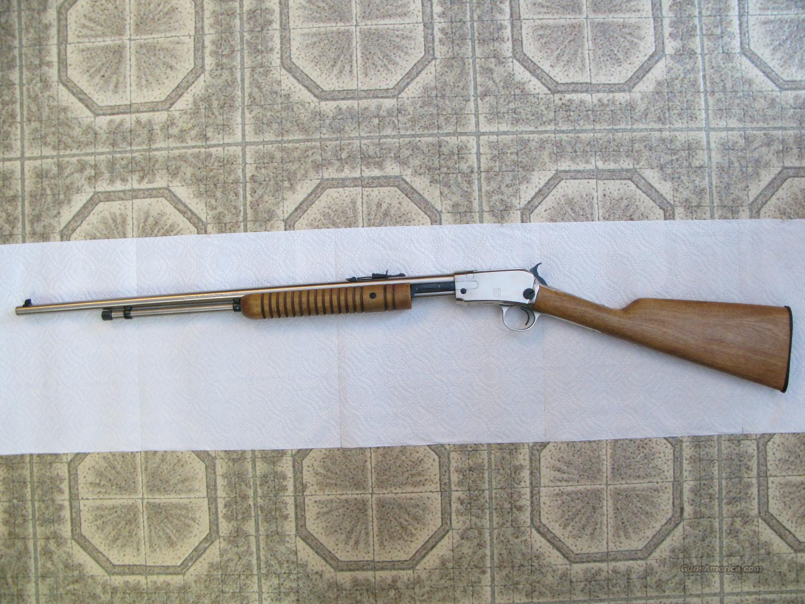 """Model 62 SA .22 S,L,LR Stainless Steel """"Gallery"""" Style Pump Gun Like  Winchester M-62A"""