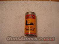 Vintage Gunslick cleaning patch container