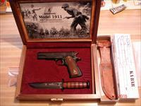 Browning 1911-22 New In 100 Ann. case with k-Bar knife Etc.