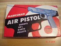 Vintage Marksman .177cal. Pellet/BB Pistol MIB 1960's MFG with all shipping Items