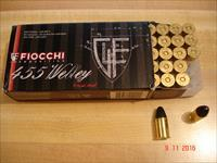 Hard to find Fiocchi 455 Webley (.455 Eley) 262Gr.LRN 50 Rnd Box