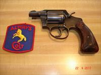"Colt Det. Spec. post war 1950  MFG 2"" BBl. Excellent Coltwood stocks.38spec."