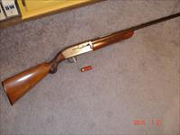 Browning double Auto Std. Grade Blue steel Excellent 12GA.