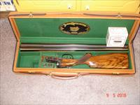 "Parker Repro.12Ga Hard to find DT and Beavertail forarm DHE 26"" Exc. Cased"