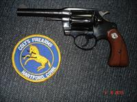Colt Police Positive special MFG 1978 .38Spec. MINT 4""