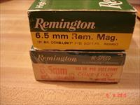 Remington 6.5m/m Rem. Magnum Ammo Hard to Find Caliber