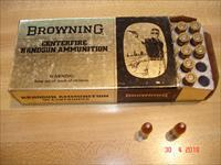 Browning Hard to find .32ACP box of 50 FMJ Vintage ammo