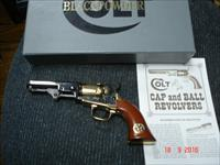 "Colt 1849 Pocket 150th Gold Rush .31Cal Percussion Revolver ANIB 4"" BBl."
