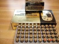 Vintage Hard to find Browning .25ACP ammo 50grFMJ Excellent