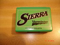 Sierra .243 Dia  75 Gr. HP Varminter Bullets 100 Ct. Box