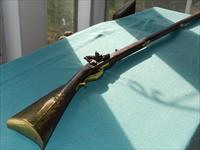 LEONARD DAY AND SONS LONG .50 FLINTLOCK RIFLE