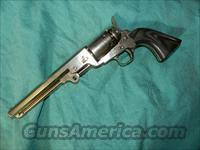FANCY NICKLE COLT NAVY .44  REVOLVER