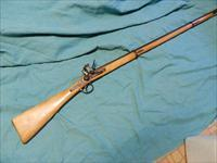 LONG FLINTLOCK MUSKET BELGIUM MADE