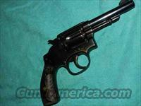 S&W HAND EJECTOR 2ND MODEL 38 SPEC