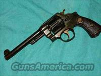 SMITH & WESSON H.E. ENGLISH .455CAL