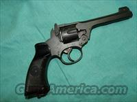 WEBLEY WWII REVOLVER 38 cal.