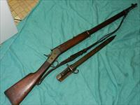 REMINGTON ROLLING BLOCK 7MM RIFLE WITH BAYONET