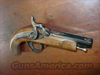 DERRINGER ENGRAVED GOLD TRIM