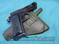 BERETTA 1934 MILTARY .380 WITH HOLSTER