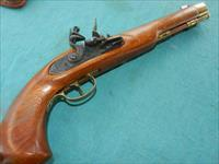 CVA FLINTLOCK LONG COAT PISTOL .45 CAL
