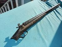 19TH CENTURY 10GA MUZZLE LOADER DOUBLE