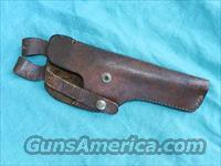 COLT WOODSMAN LEATHER HOLSTER