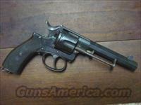 NAGANT STYLE .44 CAL RIMMED CARTRIDGE REVOLVER