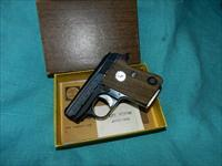 COLT CUB .25 AUTO WITH THE BOX!