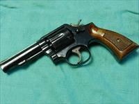 S&W MODEL 10-6 HEAVY BARREL REVOLVER