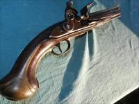 SHIP'S CAPTAIN .60 CAL. 18TH CENT. FLINTLOCK PISTOL
