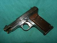 RARE BERETTA MODEL 1915 FACTORY NICKLE .32ACP