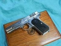 COLT NICKLED 1903 .32 ACP IN PRESENTATION BOX