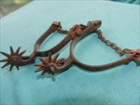 OLD WESTERN IRON SPURS